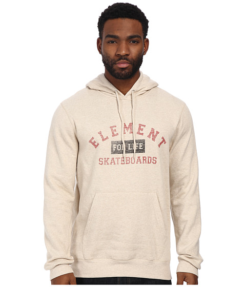 Element - For Life Fleece (Oatmeal Heather) Men's Fleece