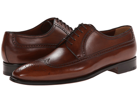 a. testoni - Wingtip Oxford (Caramel 1) Men