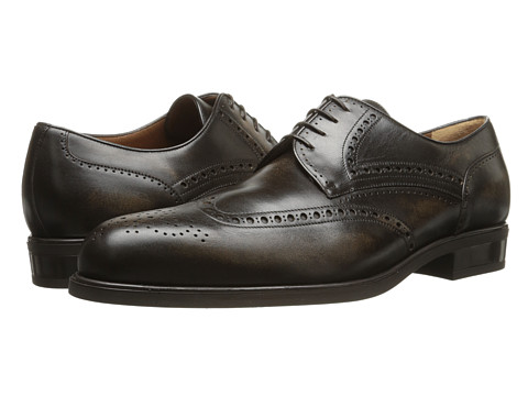 a. testoni - Antique Calf Wingtip (Fondente) Men