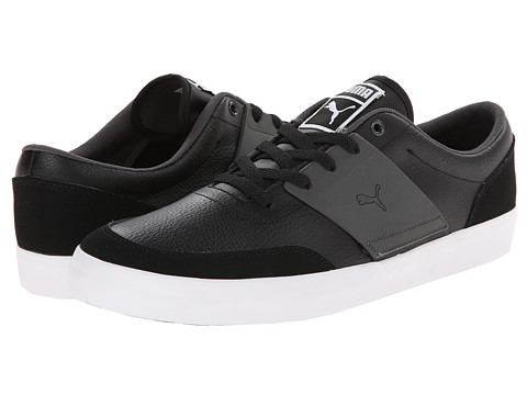 PUMA - El Ace 4 (Black/Dark Shadow/White) Men's Shoes