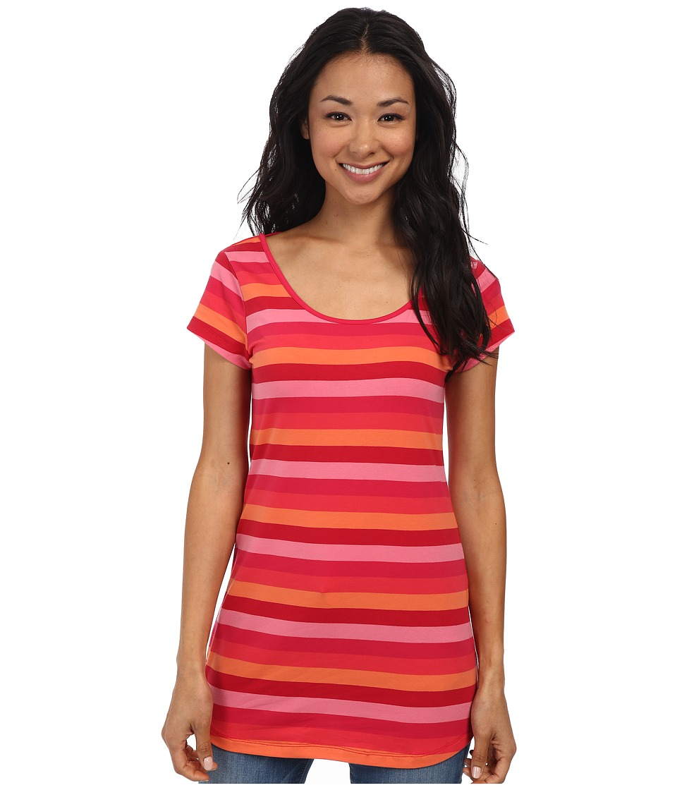 Lole - Patricia Tunic (Chillies Multi Stripe) Women's Blouse