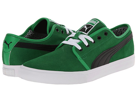 PUMA - El Alta Suede (Fern Green/Black) Men's Shoes