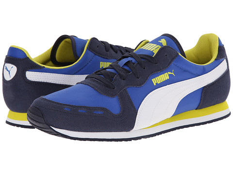 PUMA - Cabana Racer Fun (Peacoat/White/Strong Blue) Men