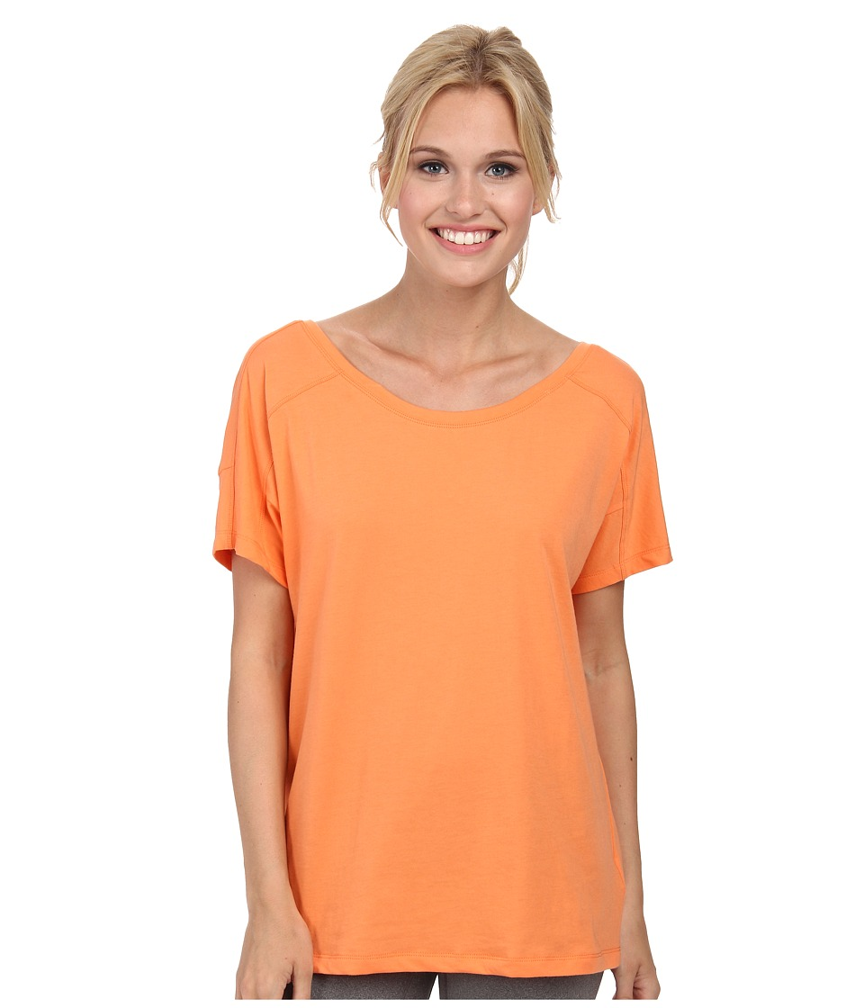 Lole - Concord Top (Melon) Women's Short Sleeve Pullover