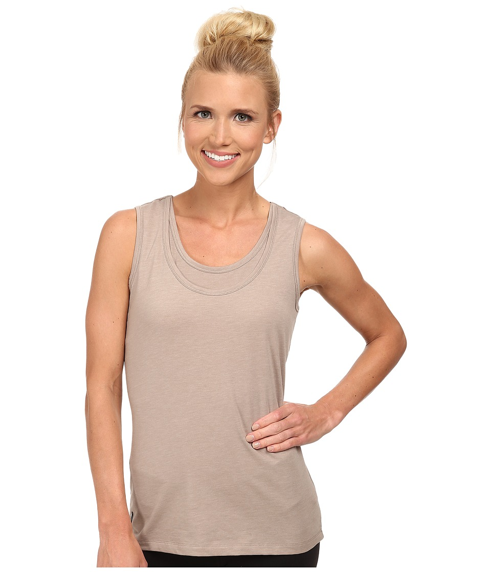 Lole - Hug Top (Biscotti Heather) Women's Clothing
