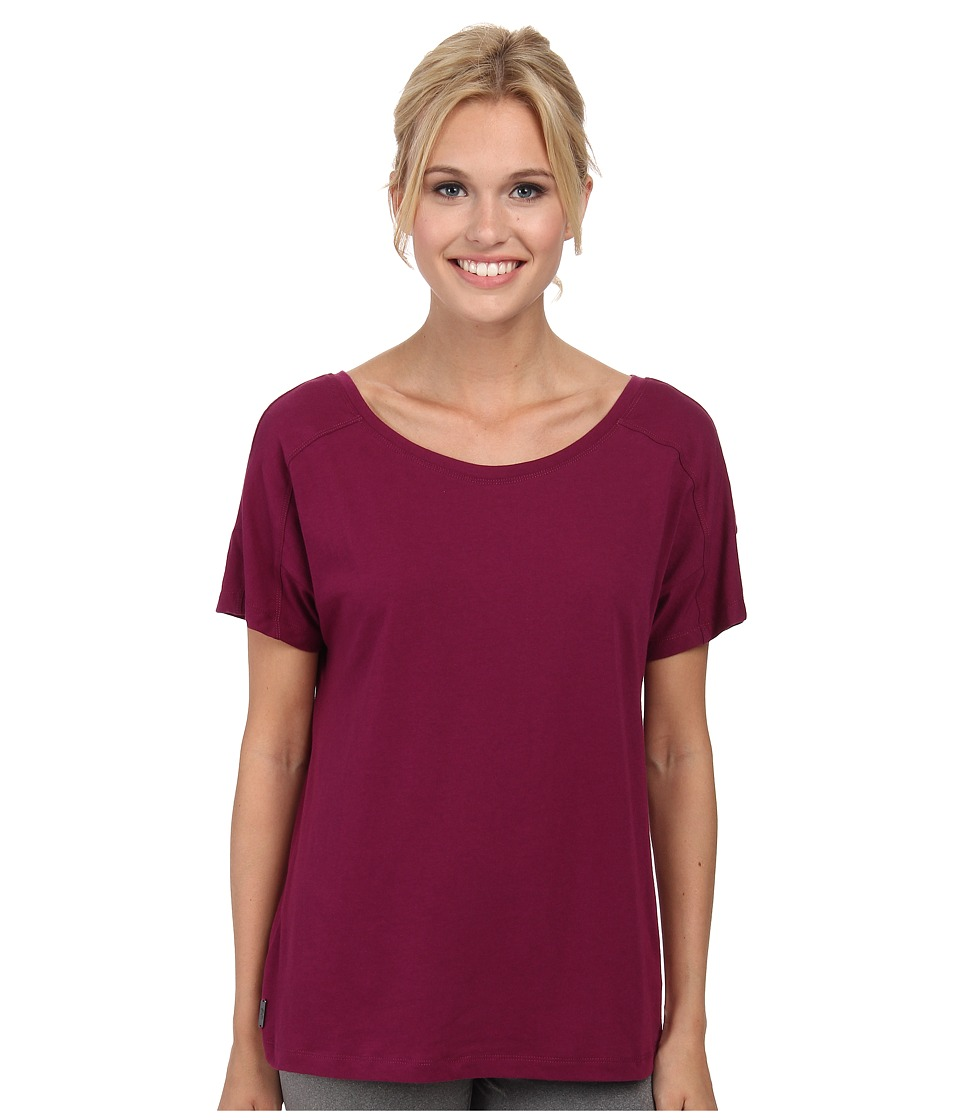 Lole - Concord Top (Mulberry) Women's Short Sleeve Pullover