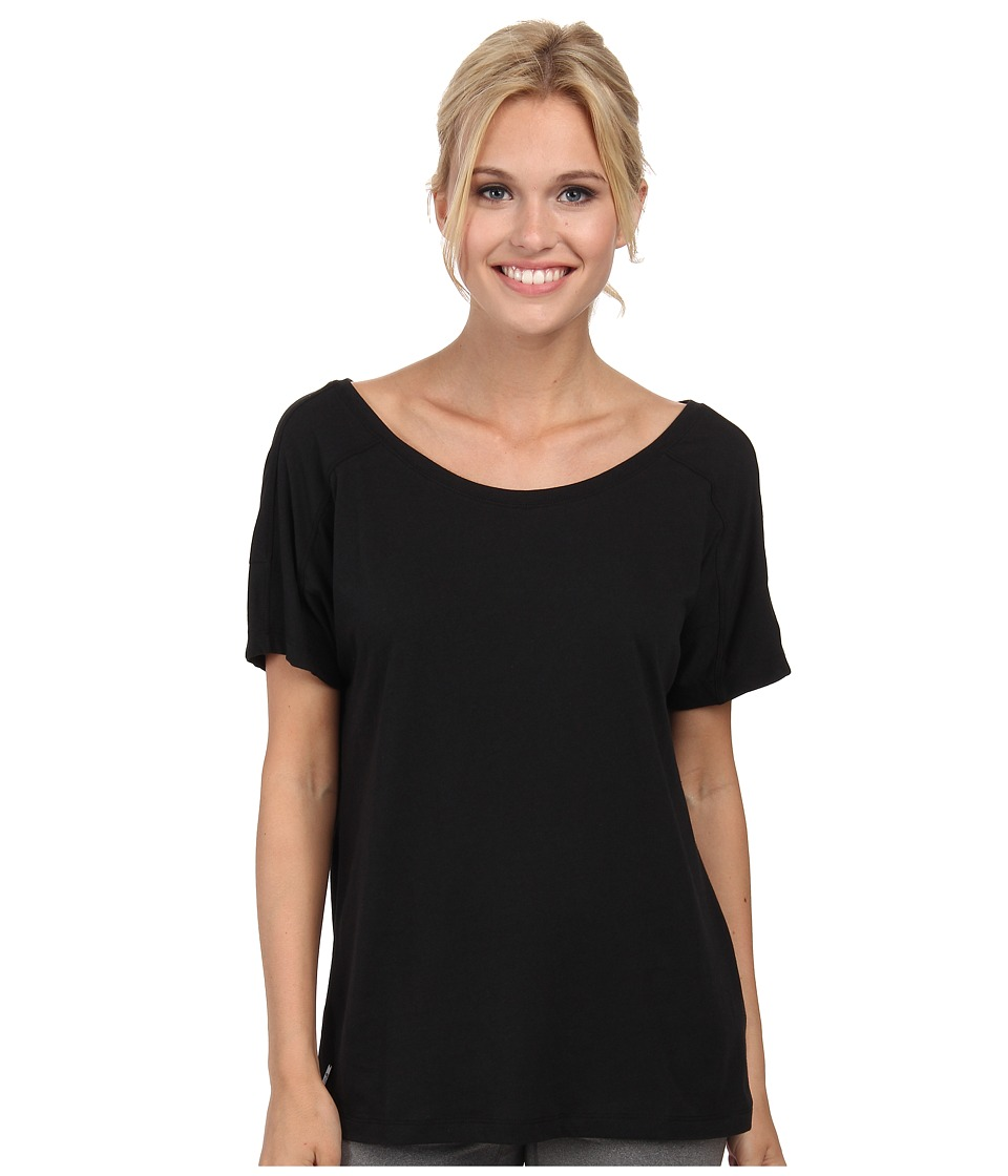 Lole - Concord Top (Black) Women's Short Sleeve Pullover