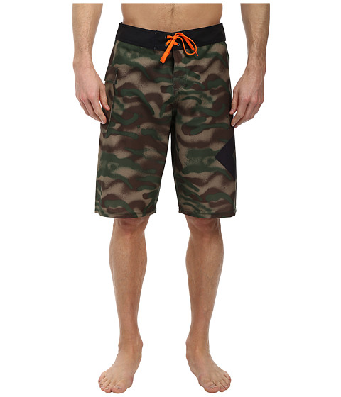 DC - Lanai 22 Boardshort (Camo Spray) Men's Swimwear