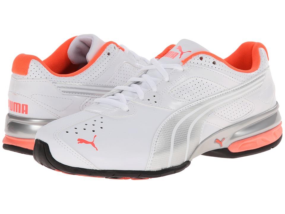 PUMA - Tazon 5 NM (White/Puma Silver/Fluro Peach) Women's Shoes