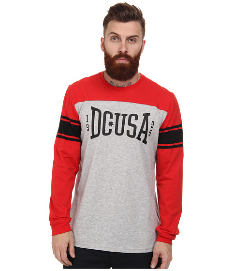 DC - Rob Dyrdek Wild Card L/S Tee (Formula One) Men