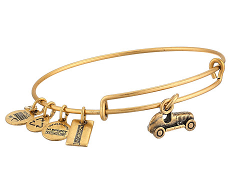 Alex and Ani - Monopoly Collection Car Bangle (Rafaelian Gold Finish) Bracelet