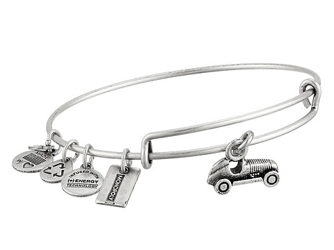 Alex and Ani - Monopoly Collection Car Bangle (Rafaelian Silver Finish) Bracelet