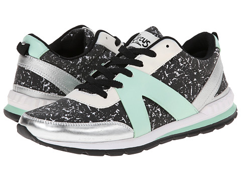 Circus by Sam Edelman - Dexter (Black/White Spearmint) Women's Running Shoes