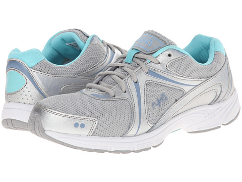 Ryka - Stryde Walk SMW (Chrome Silver/Metallic Lake Blue/Aqua Sky) Women