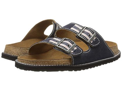 Birkenstock - Arizona by Birki (Raw Denim Textile) Men's Sandals