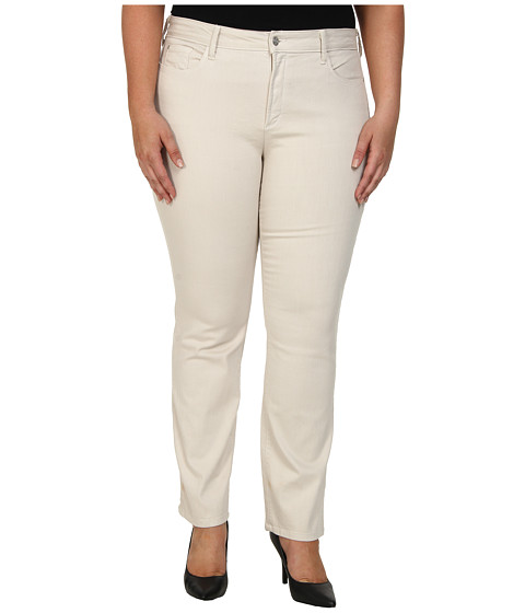 NYDJ Plus Size - Plus Size Marilyn Straight (Clay) Women