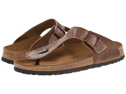 Birkenstock - Ramses by Birki (Tie Dye Brown Textile) Men's Sandals