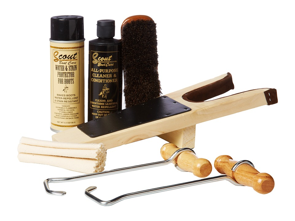 M&F Western - Scout Travel Boot Care Kit (Multi) Cleaners