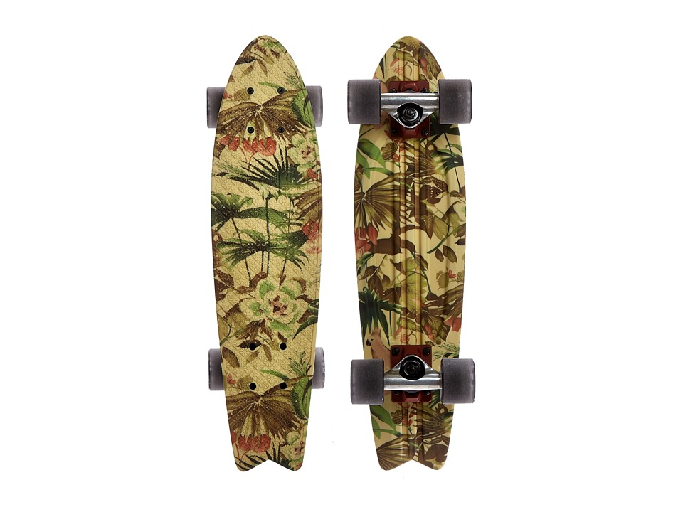 Globe - Bantam ST Graphic (Jungle) Skateboards Sports Equipment