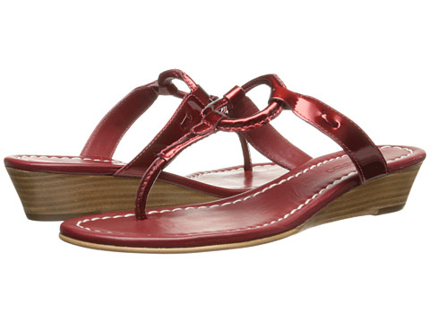 Bernardo - Matrix Wedge (Ruby Patent) Women's Wedge Shoes