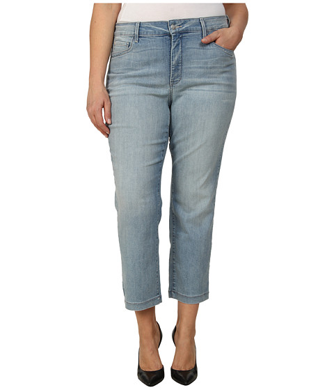 NYDJ Plus Size - Plus Size Audrey Ankle in Manhattan Beach (Manhattan Beach) Women's Jeans