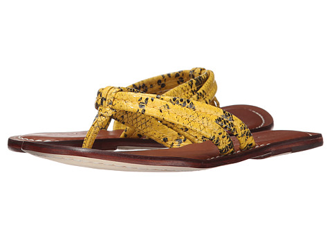Bernardo - Miami (Yellow Snake) Women's Sandals
