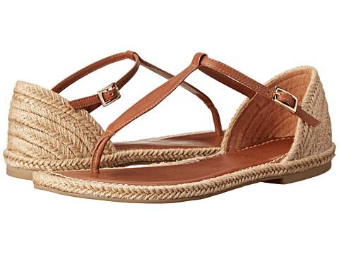 Bernardo - Mistral Jute (Luggage Calf) Women's Sandals