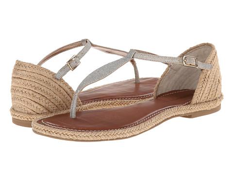 Bernardo - Mistral Jute (Platinum Linen) Women's Sandals