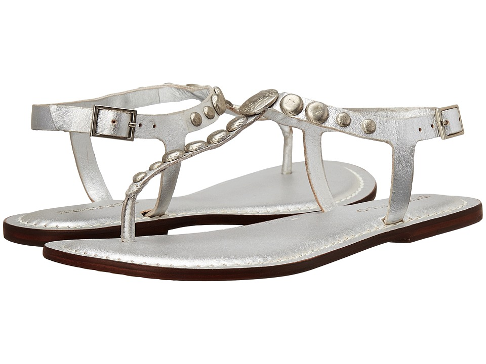 Bernardo - Mojo (Silver Calf) Women's Flat Shoes