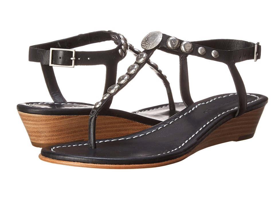 Bernardo - Mojo Wedge (Black Calf) Women's Sandals