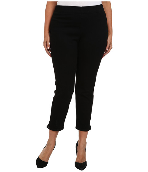 NYDJ Plus Size - Plus Size Millie Ankle in Black (Black) Women's Jeans