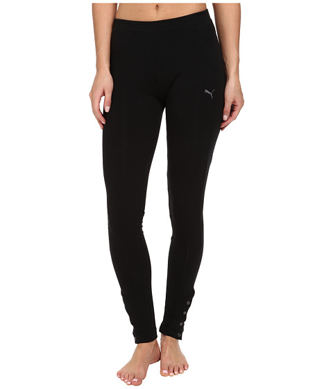 PUMA - Ferrari Leggings (Black) Women's Casual Pants