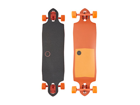 Globe - Sledgehog Fiber-Carve (Tart Orange) Skateboards Sports Equipment