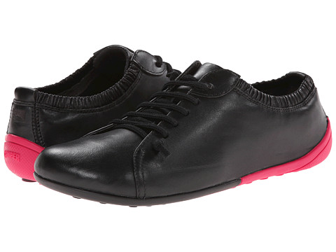 Camper - Peu Circuit - 21183 (Black) Women's Lace up casual Shoes