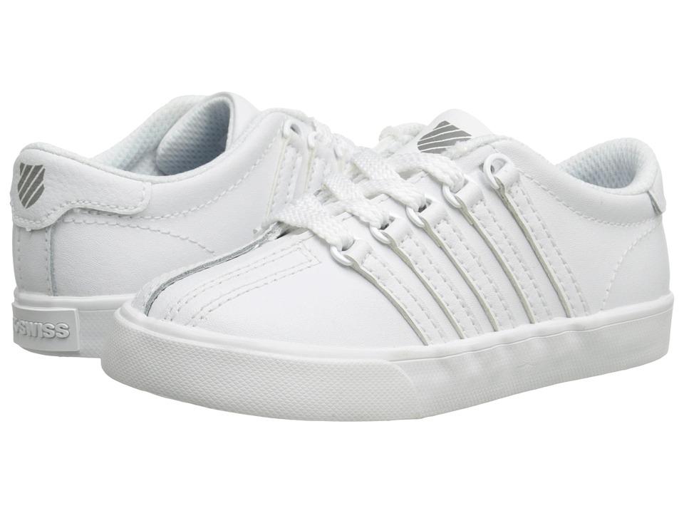 KSwiss Classic VNtm InfantToddler WhiteWhite Mens Shoes