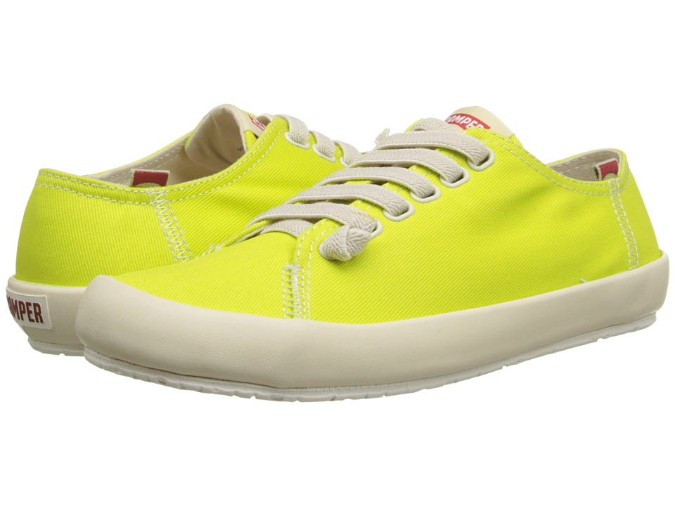 Camper - Peu Rambla Vulcanizado - 21897 (Bright Yellow) Women's Lace up casual Shoes