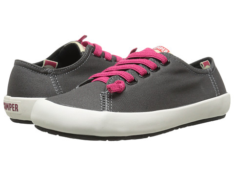 Camper - Peu Rambla Vulcanizado - 21897 (Dark Gray) Women's Lace up casual Shoes