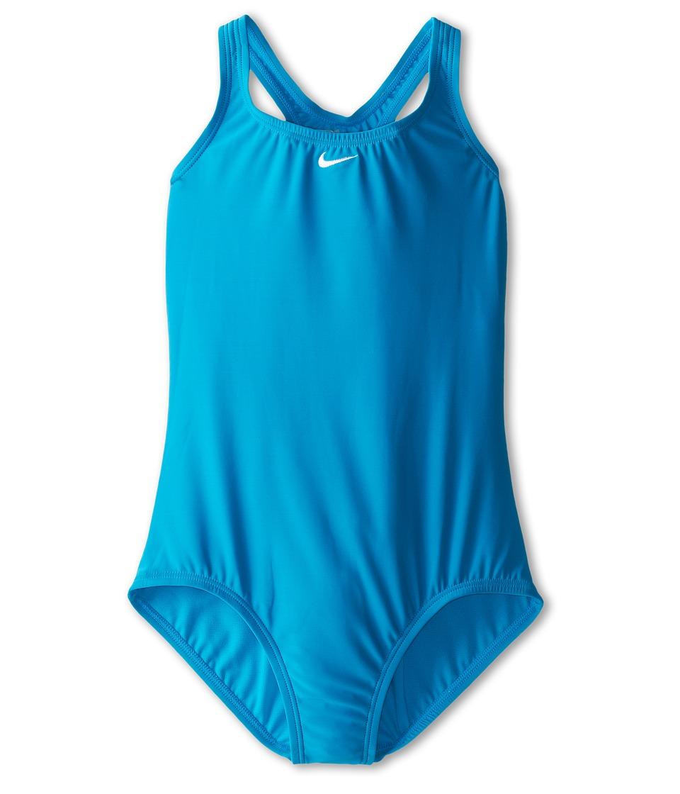 Nike Kids - Core Solid Power Back Tank (Big Kids) (Blue Lagoon) Girl