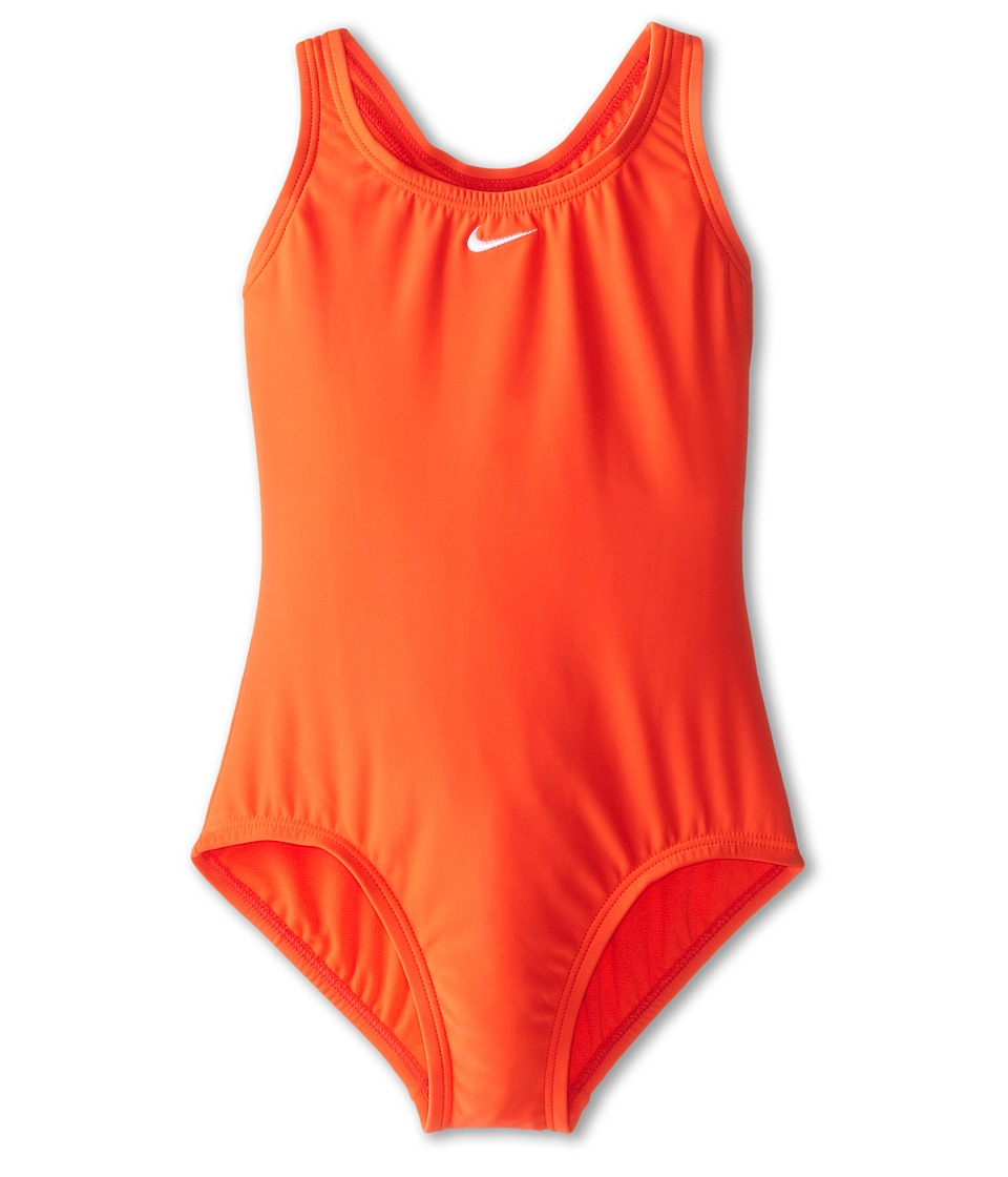 Nike Kids - Core Solid Power Back Tank (Big Kids) (Bright Crimson) Girl's Swimwear