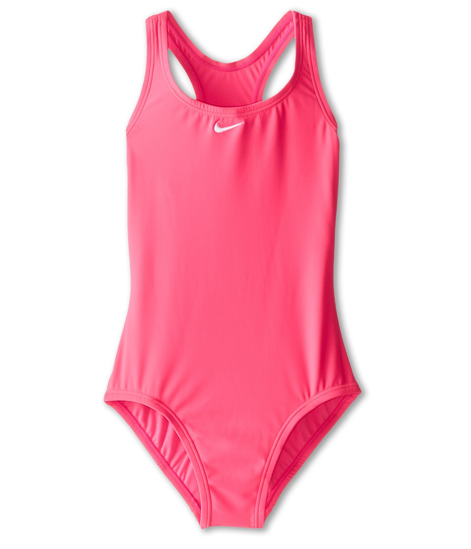 Nike Kids - Core Solid Power Back Tank (Big Kids) (Pink Pow) Girl's Swimwear
