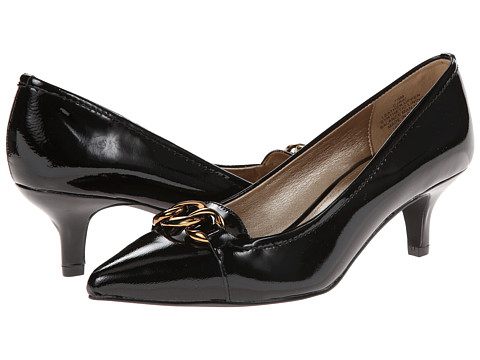 Circa Joan & David - Rai (Black Patent) Women's Shoes