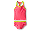 Core Solid Racer Back Tankini And Brief