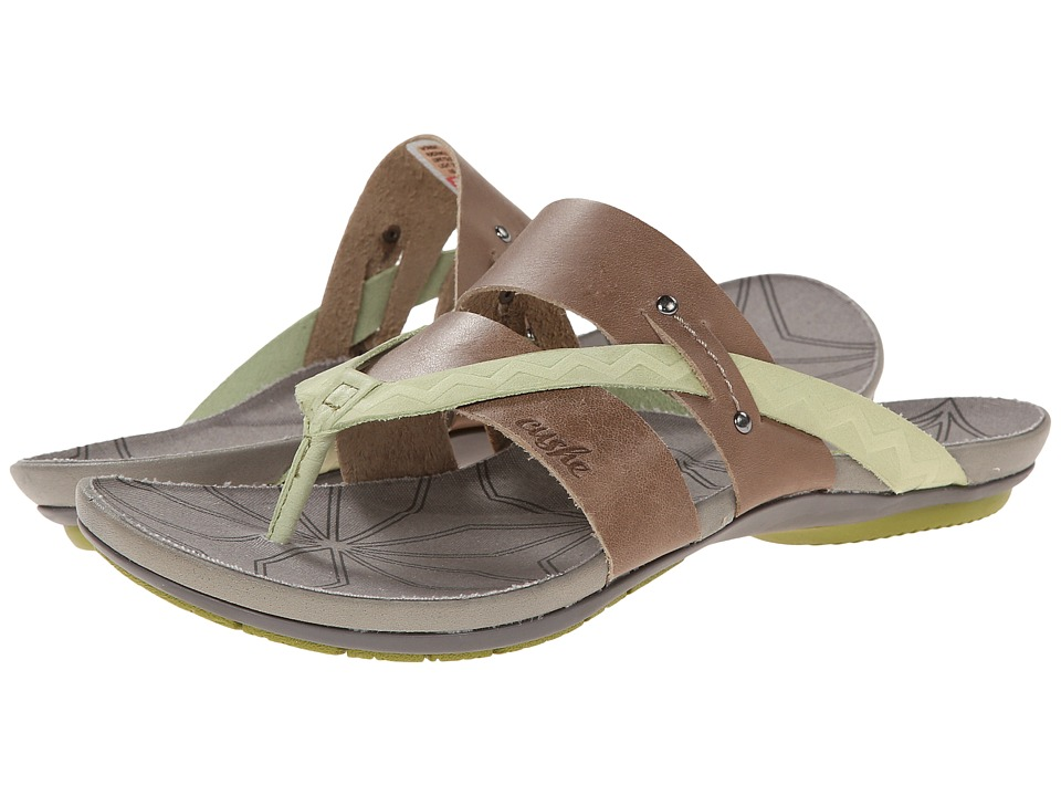 Cushe - Radiance (Light Grey/Lime) Women's Shoes