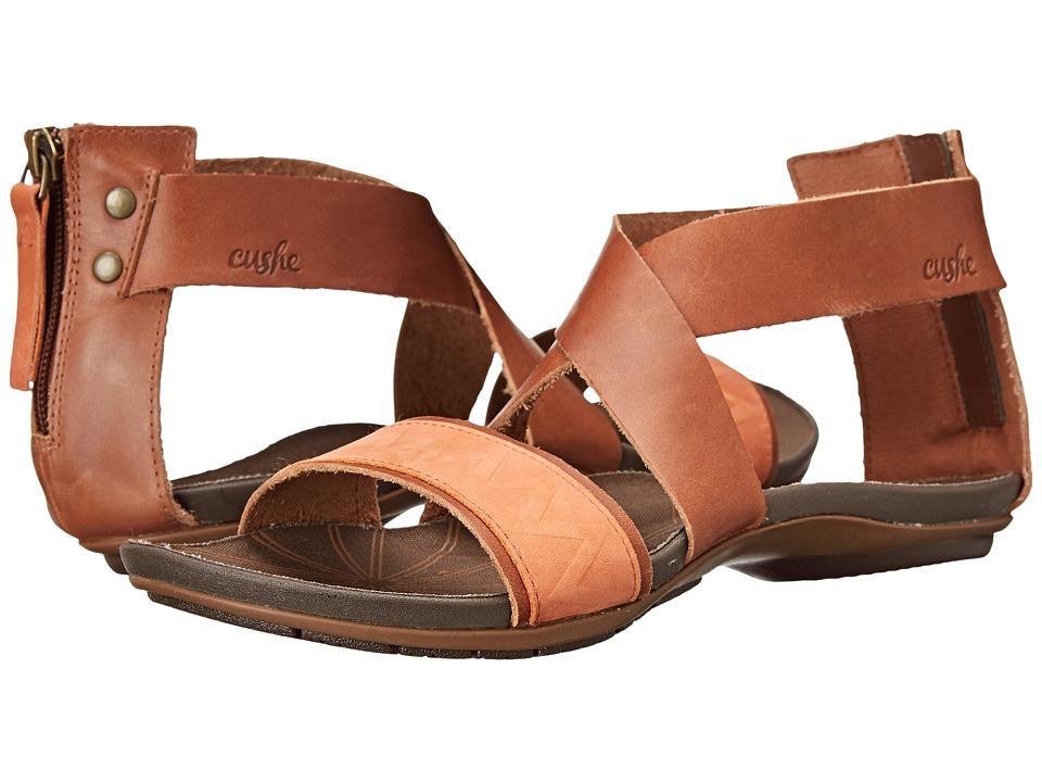 Cushe - Glimmer (Tan/Papaya) Women's Shoes