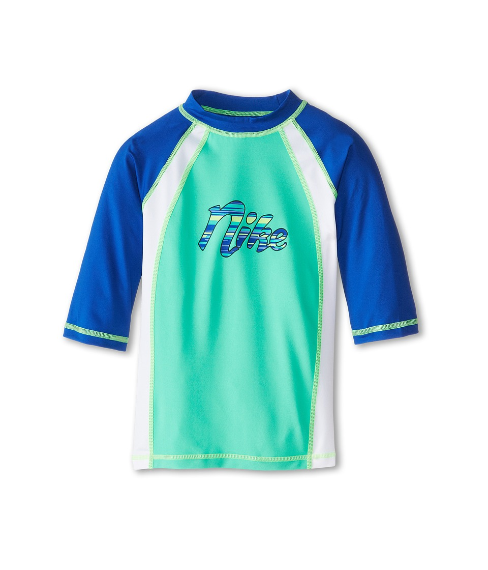 Nike Kids Colorblock S/S Hydro Top (Big Kids) (Menta) Girl
