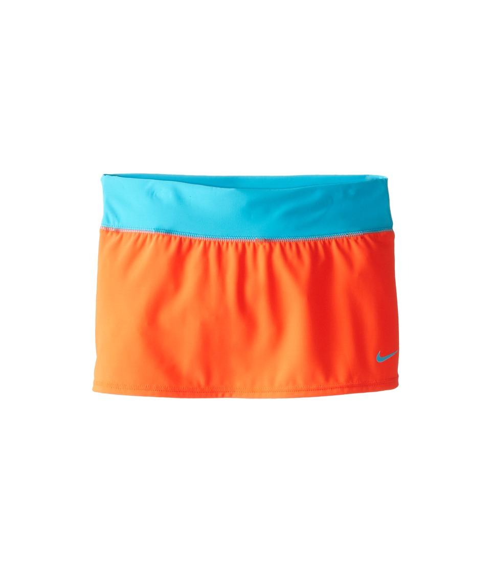 Nike Kids - Solid Swim Skirt (Big Kids) (Bright Crimson) Girl's Swimwear