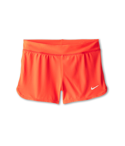 Nike Kids - Solid Swim Short (Big Kids) (Bright Crimson) Girl's Swimwear