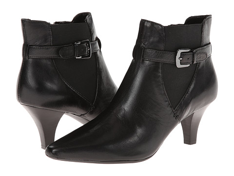Circa Joan & David - Divo (Black Leather) Women's Shoes