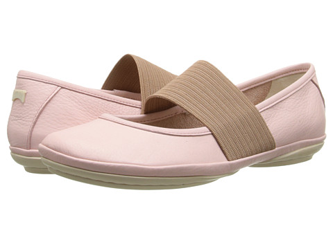 Camper - Right Nina - 21595 (Light Pastel Pink) Women's Slip on Shoes