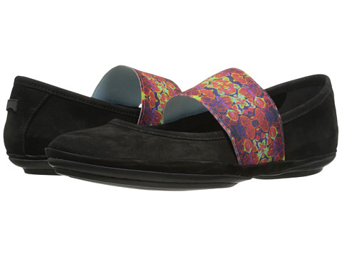 Camper - Right Nina - 21595 (Black 2) Women's Slip on Shoes